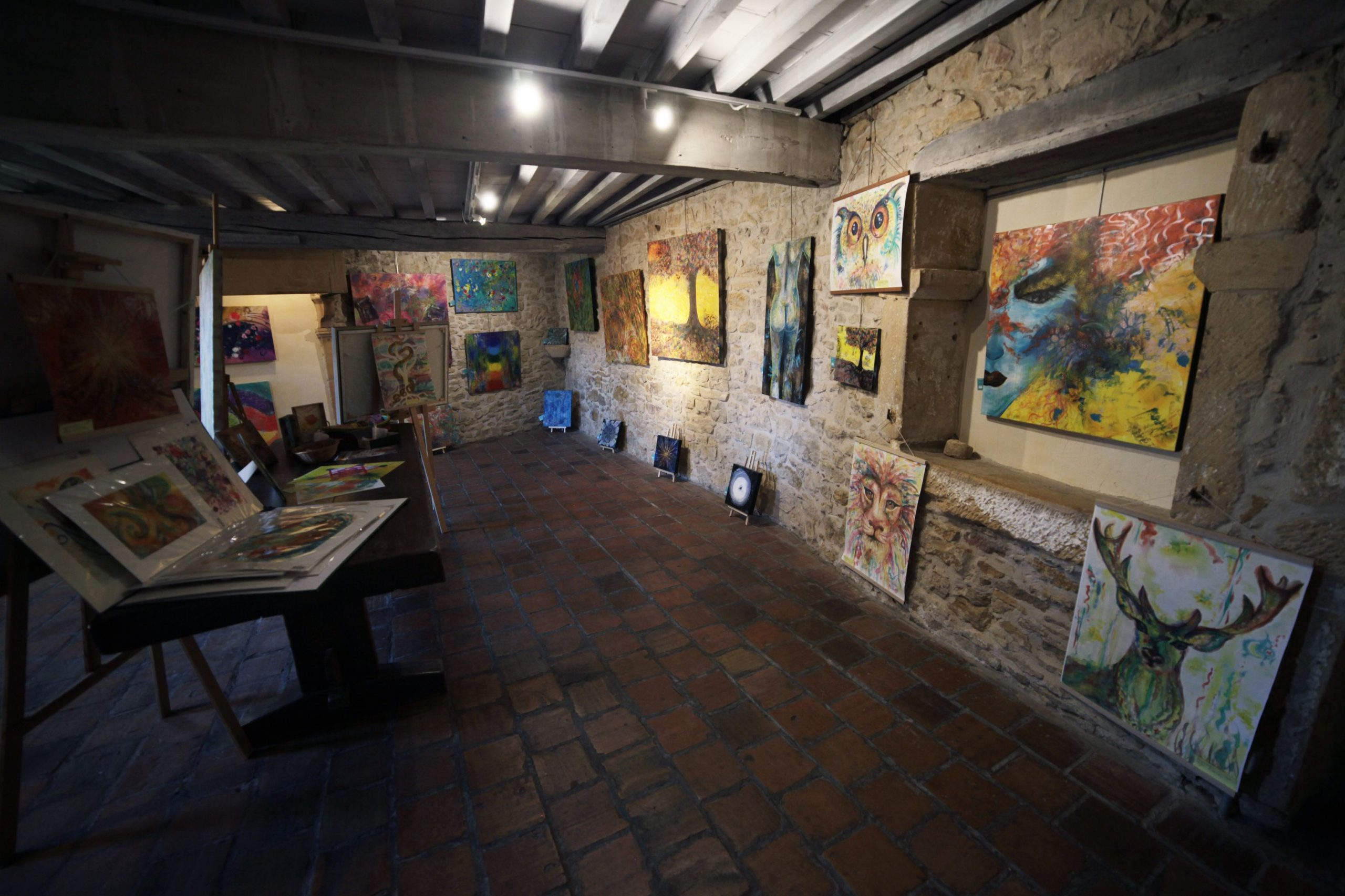 exposition peintures, exposition, peinture, peinture énergétique, peinture vibratoire, peinture d'âme