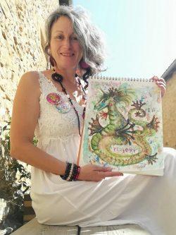 dragon, peinture énergétique
